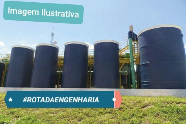 Estação de Tratamento de Esgoto ETE - 90 M3/DIA - Foto 2