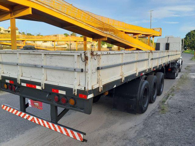 Carreta Reboque Krone S Cot Cabb carga seca com pino de container ANO 1994   - Foto 9