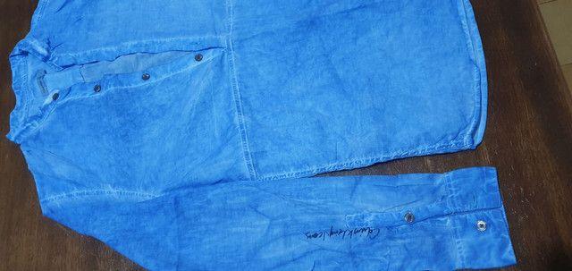Camisa tipo Bata, Calvin Klein ( original), em Excelente estado - Foto 2