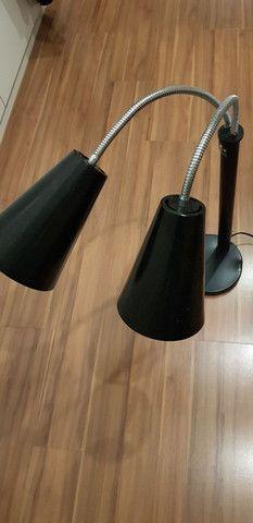 Luminaria aquecedora duplo spot Glasart - Foto 2