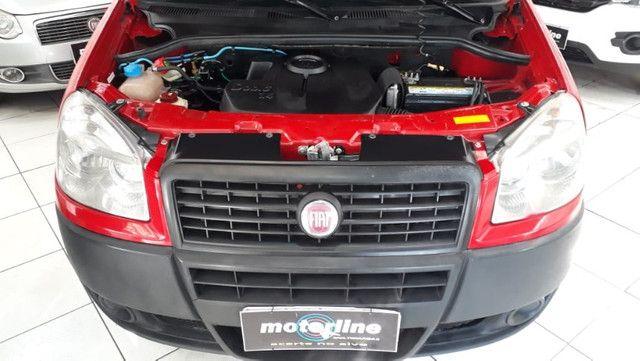 Fiat Doblo Cargo 1.4 Flex 2014 Vermelha Ar e Direção Doc OK - Foto 4