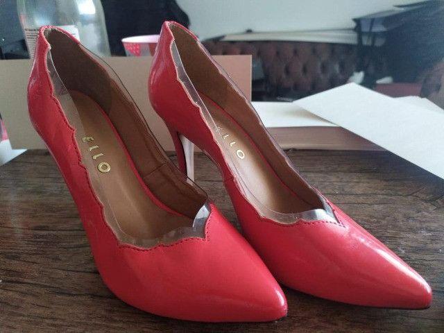 Scarpin Feminino Ello tm 36 novo sapato sandalia - Foto 2