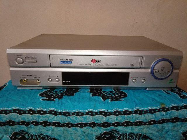 Video Cassete LG Ec-931b 7 Cabeças Hi-fi Stereo<br><br><br>