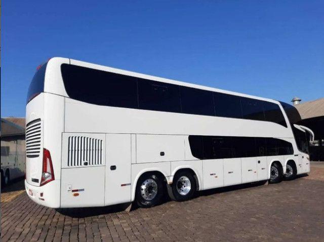 Ônibus Leito Cama Marcop Paradiso 1800 Dd G7 - Foto 5