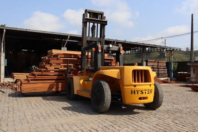 Empilhadeira hyster 10 toneladas - Foto 3