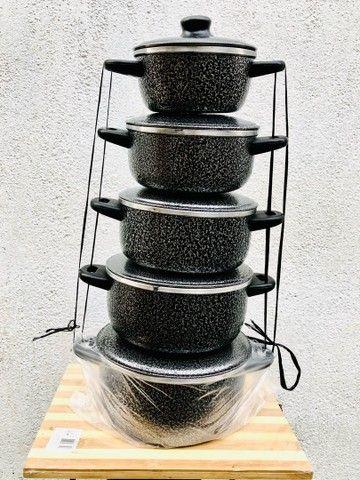 Jogo de panelas , kit , alumínio , panela  - Foto 5