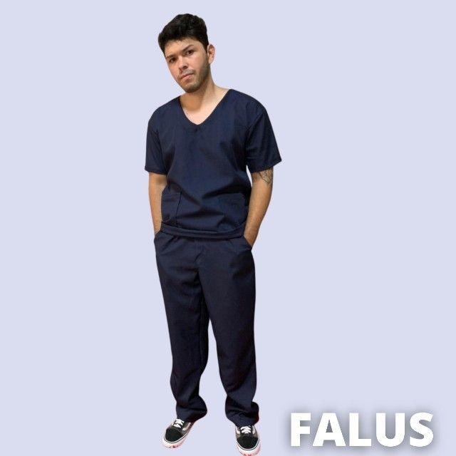 Pijama Cirúrgico Falus - Foto 2