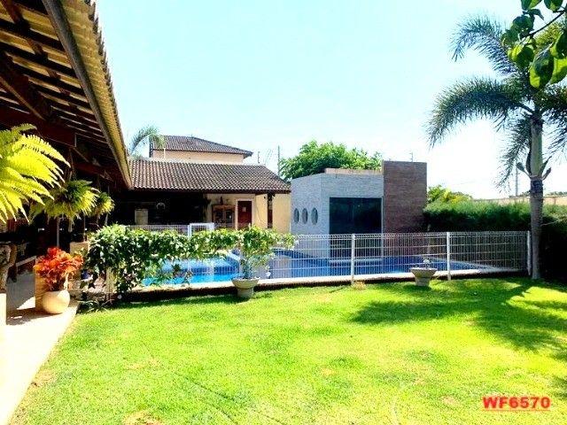 Vila Morrena, casa duplex com terreno duplo, 3 quartos, piscina, 6 vagas, Eusébio - Foto 6