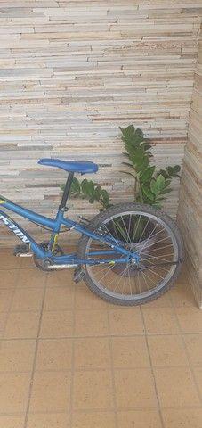Vendo bike aro 20. Usada 1 vez  - Foto 3