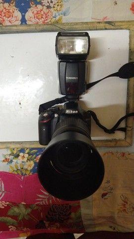 Câmera profissional<br>NIKON d3200 - Foto 2