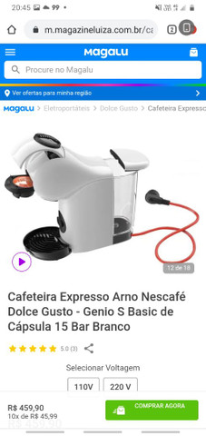 Cafeteria Expresso Arno Nescafé Dolse Gusto - Foto 4