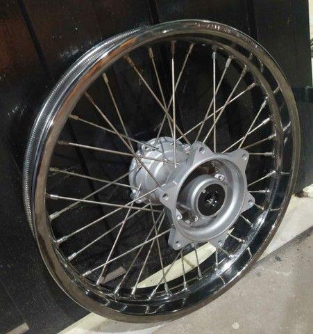 Rodas originais Honda XRE  - Foto 2