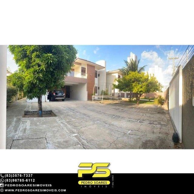 Casa com 5 dormitórios para alugar, 1.120 m² por R$ 16.000/mês - Estados - João Pessoa/PB - Foto 3