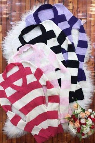 Casaco tricô e blusas - Foto 4