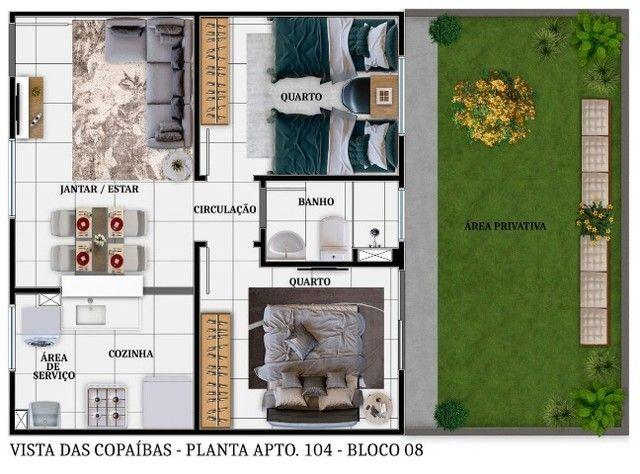 Lançamentos Apartamentos Copaíbas  - Foto 11
