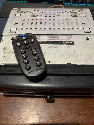 Rádio DVD positron retrátil