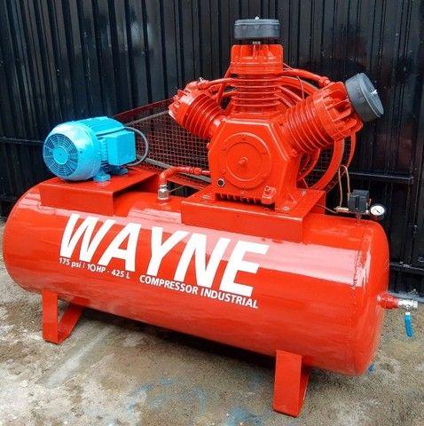 Compressor de ar 40 pés Wayne Industrial - Foto 4