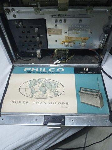 Rádio relíquia Transglobe  - Foto 5