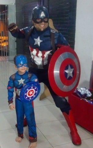 Personagem vivo Capitão América  - Foto 5
