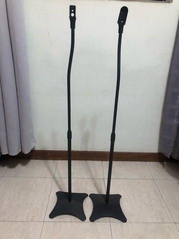 Pedestal universal para caixa de som usado  - Foto 4