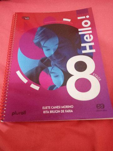 Livro de inglês 8 ano por:R$50.00