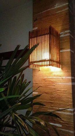 Arandela madeira, simpoul - Foto 2