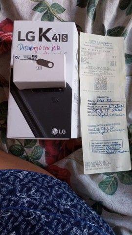LG K41S COMPLETO 2 MESES DE USO