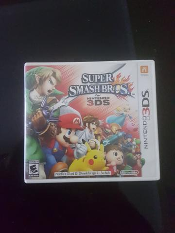 Jogo 3DS Super Smash Bros