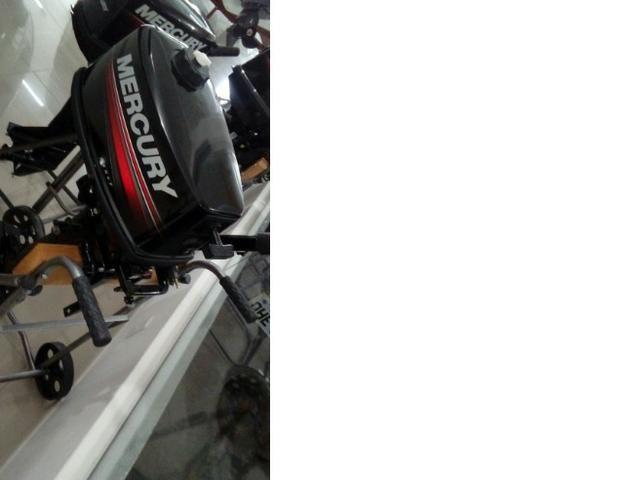 Motor de popa Mercury 5hp zero - Foto 5