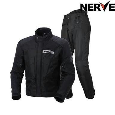 Jaqueta e calça com protetores NERVE (Última Peça)