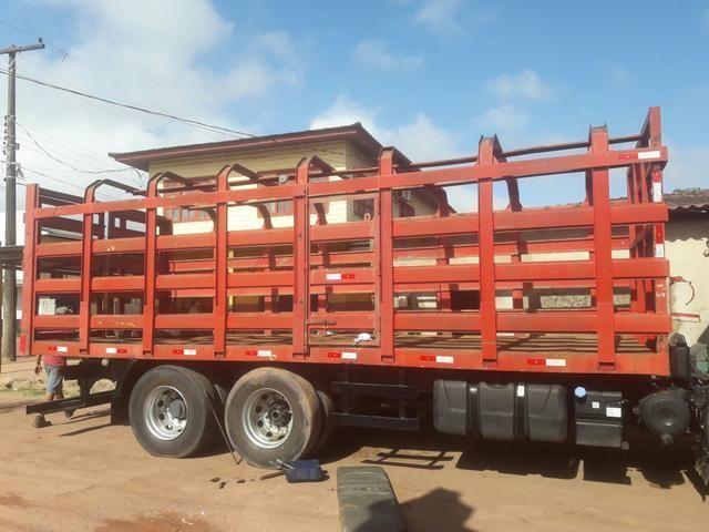 Vendo gaiola de 8 metros pra carregar Gàs