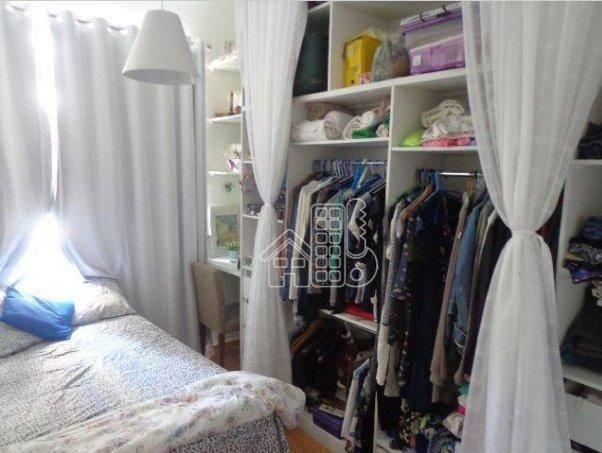 Apartamento com 1 dormitório à venda, 50 m² por R$ 302.100,00 - Icaraí - Niterói/RJ - Foto 8