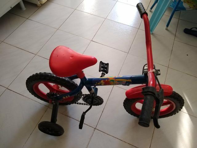 Bicicleta infantil. Aceito trocas