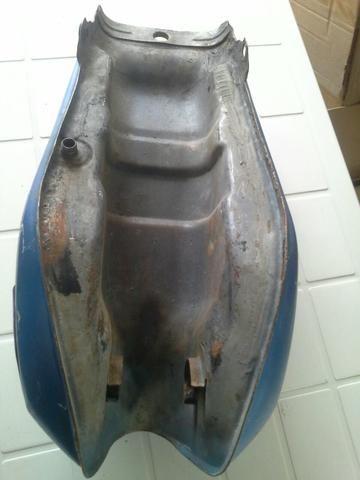 Tanque de combustível moto yamaha rd - Foto 3
