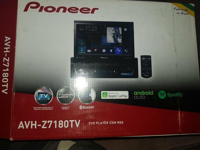 DVD pioner AVH Z7180 TV o top da pioner por 1500,00 oportunidade - Foto 5