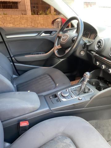 Audi A3 1.4 top de verdade super econômico VERMELHO FERRARI desconto de R$ 6.900 - Foto 11