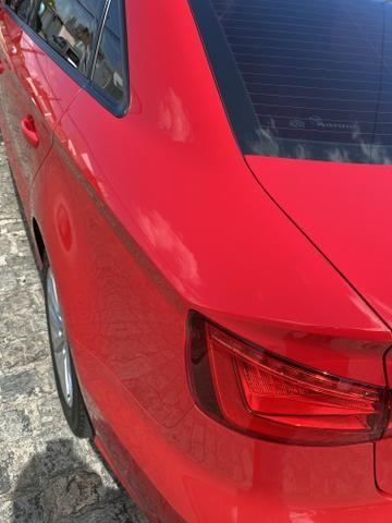 Audi A3 1.4 top de verdade super econômico VERMELHO FERRARI desconto de R$ 6.900 - Foto 3