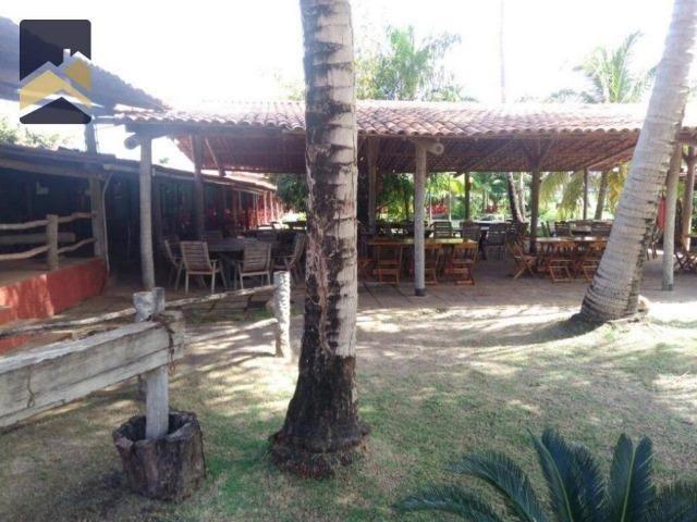 CA1559 Restaurante montado, terreno com 3.021m² e 1.600m² construído. Sabiaguaba - Foto 3