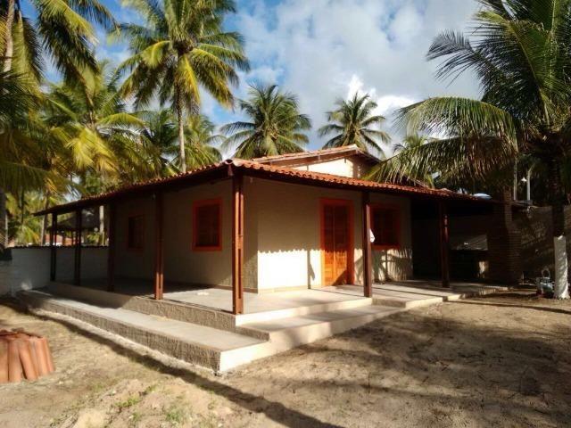 Vendo casa à beira mar (pé na areia) - Foto 9