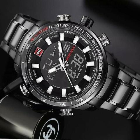 d2b2e10f0c6 Relógio Original Naviforce Business Men(aceito cartão) - Bijouterias ...