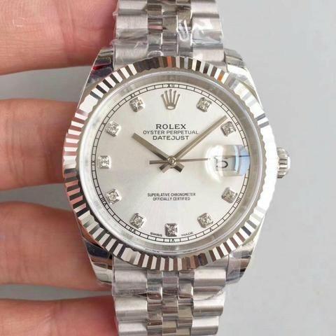 64db104d411 Relógio Rolex Datejust aço unissex Novo Frete grátis - Bijouterias ...