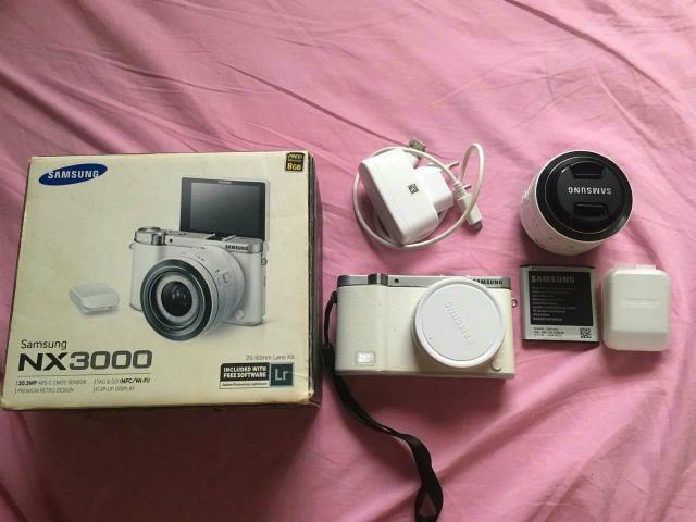 Câmera Profissional Samsung Nx 3000