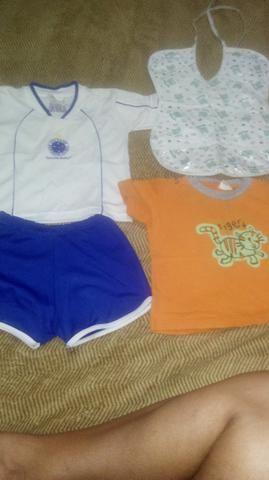 68180b462c39d Uniforme Baby do Cruzeiro Oficial + peças - Artigos infantis ...