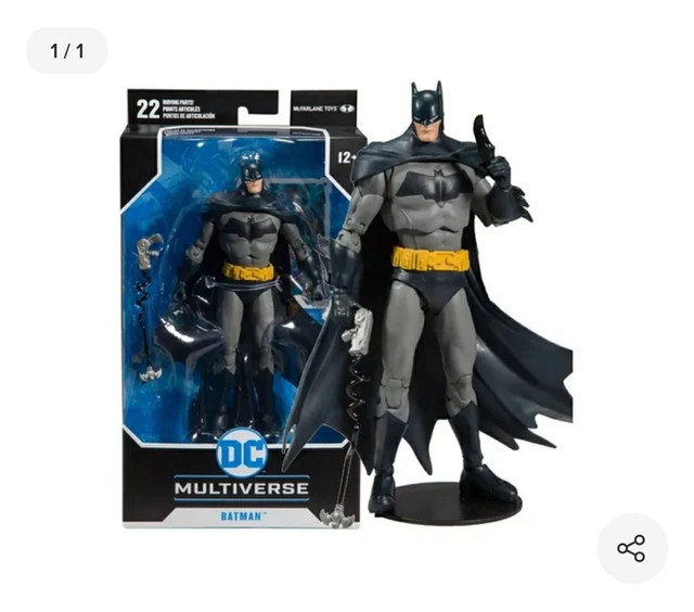 Action Figure Batman McFarlane