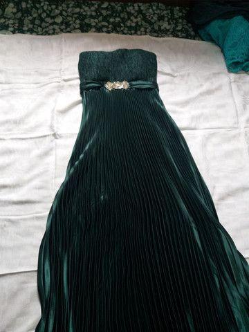 Vestido longo de festa. - Foto 4