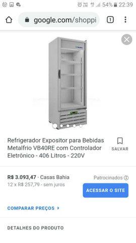 Expositor Refrigerador MetalFrio VB40RE2001 - Foto 3