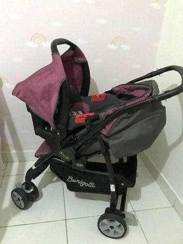 Carrinho + bebê conforto - Burigotto - Foto 5
