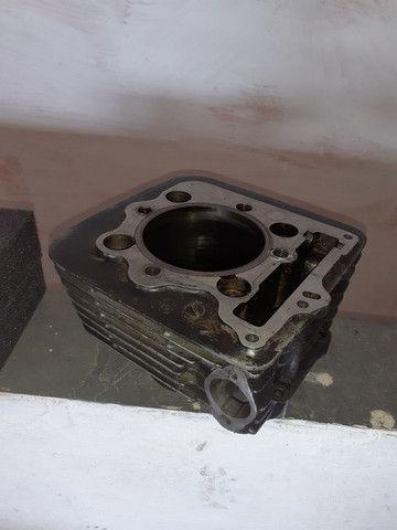 Pistão e cilindro  honda falcon nx400 - Foto 5