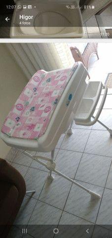 Banheira Burigoto rosa semi nova