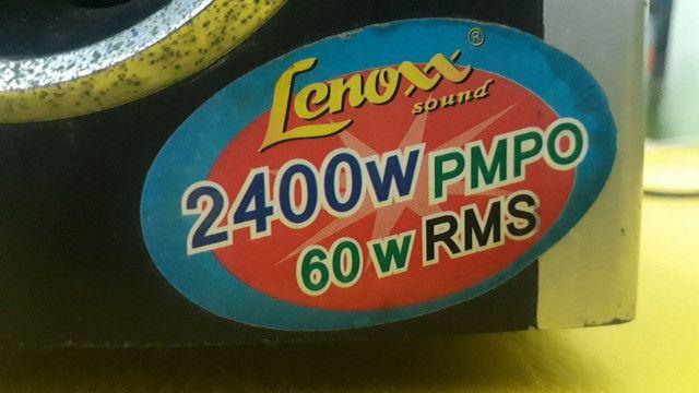 Subwoofer ativo Lenoxx (com defeito) - Leia o anúncio! - Foto 3